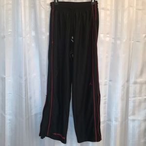 Jordan Men's size medium athletic pants, zip open